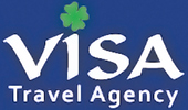 Visa Travel Agency homepage Logo